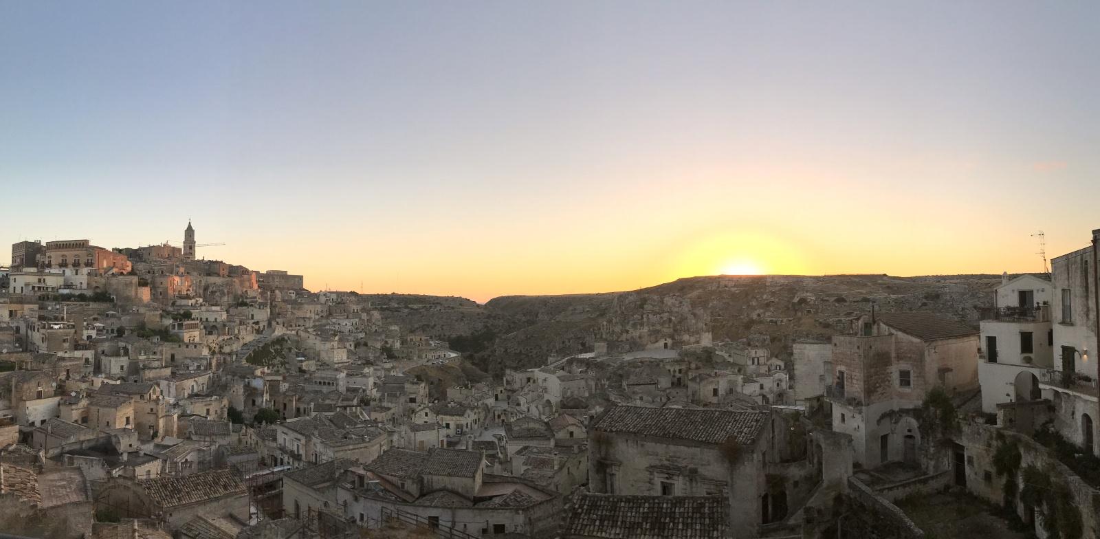 Alba a Matera: pura magia