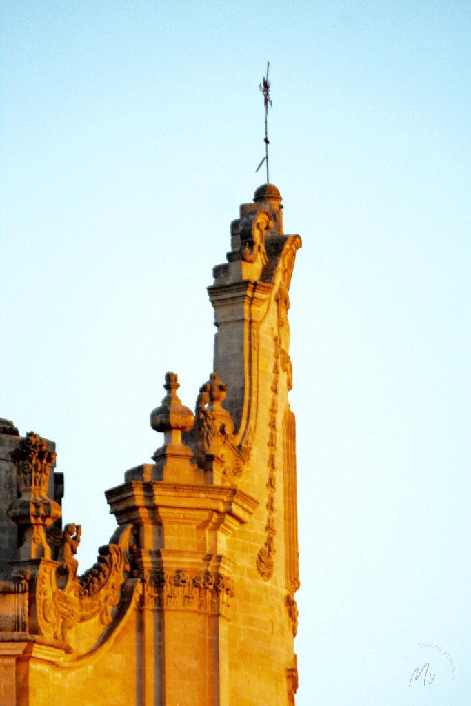 la luce dell'alba a Matera