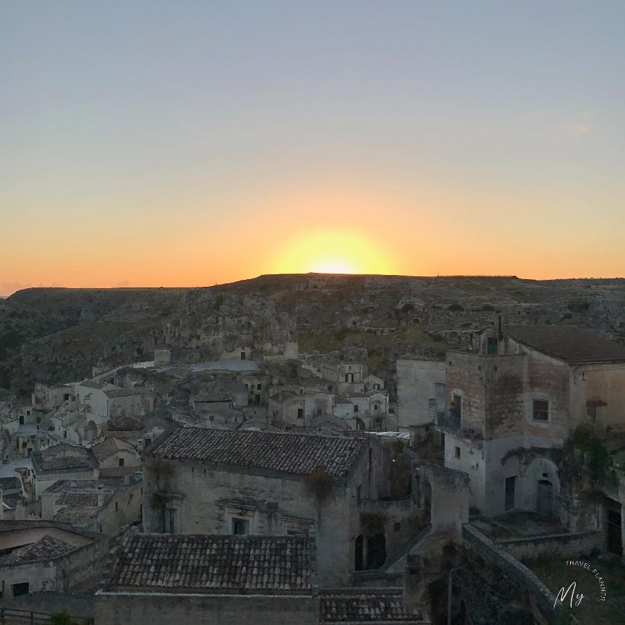 la magia di Matera all'alba