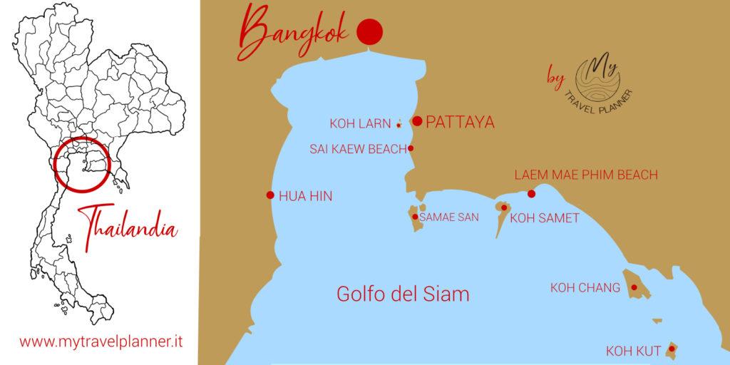 Dove andare al mare vicino a Bangkok