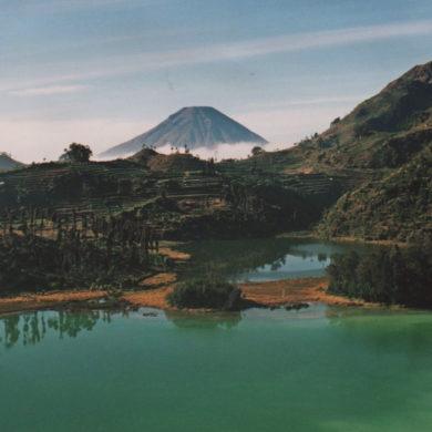 altopiano di Dieng a Java - Indonesia