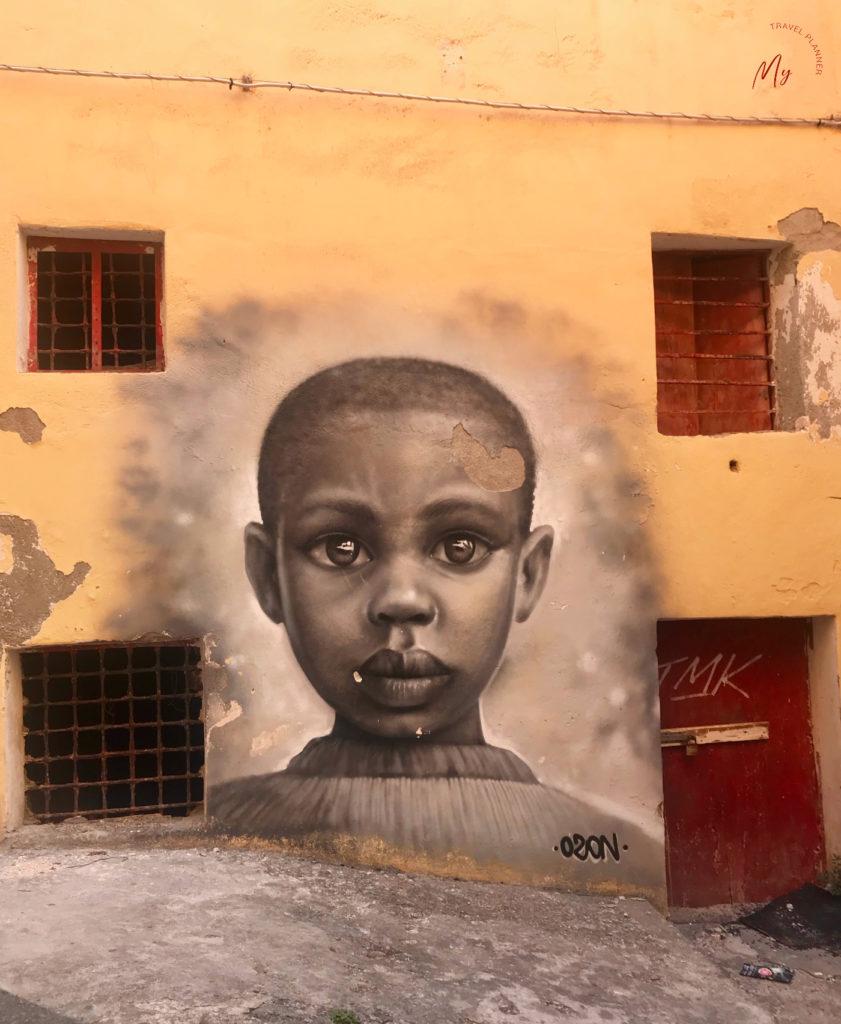 Murales di Lino Ozon a Diamante
