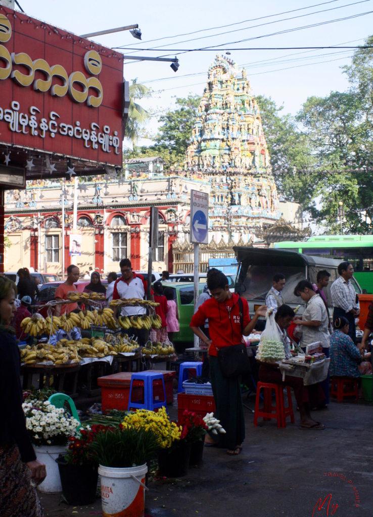 Tempio indu Sri Kali o Kaali a Yangon