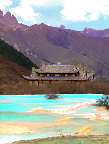 Huánglóng Sichuan e le piscine colorate