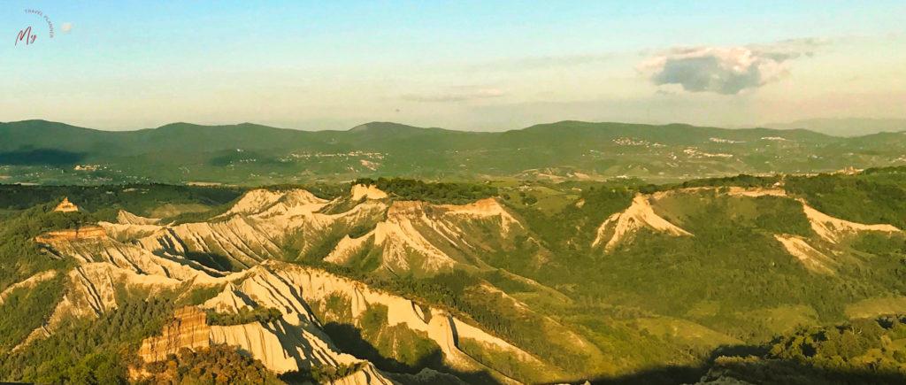 La bellezza della Valle dei Calanchi