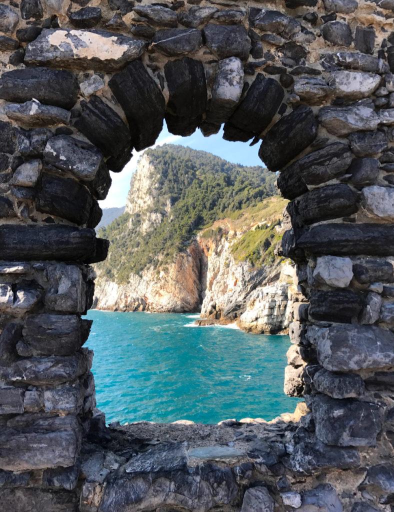 Il mare cristallino di Portovenere