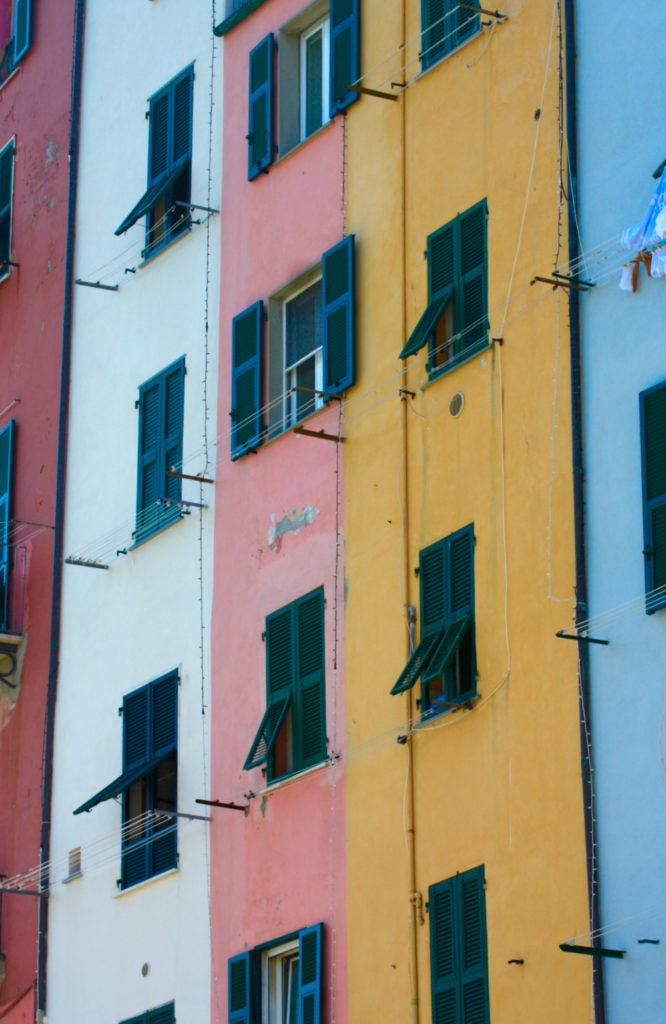 Le case torri di Portovenere