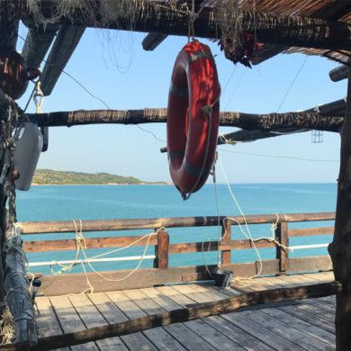 Ristoranti con vista fra Vieste e Peschici: i trabucchi
