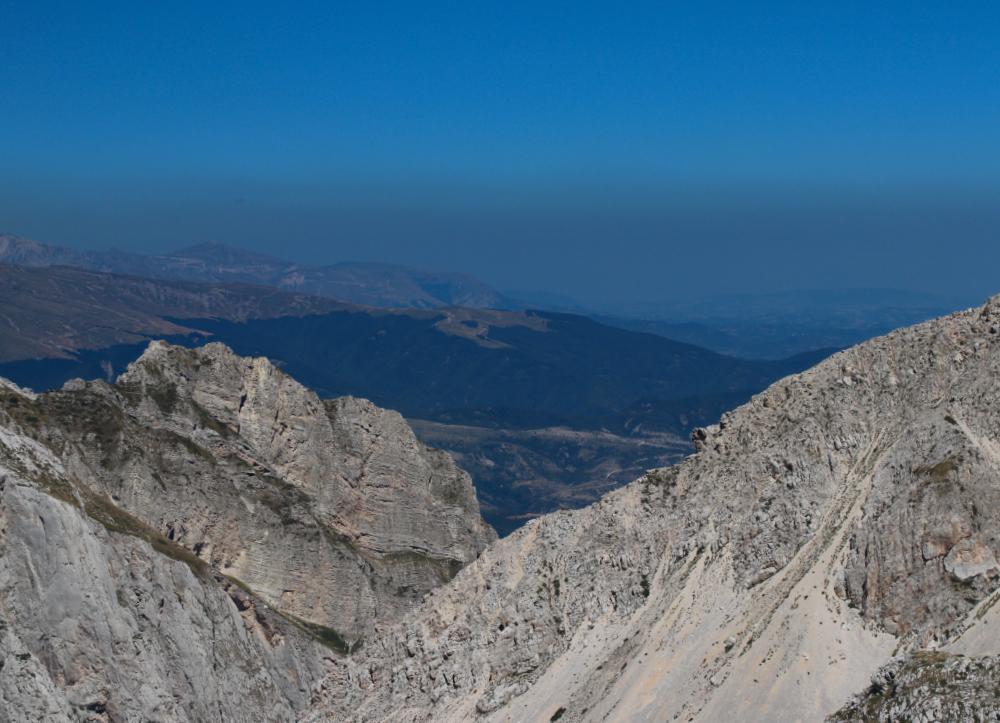 Uno dei panorami dal rifugio Duca degli Abruzzi