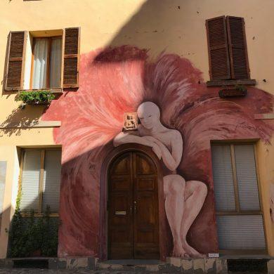 Murales L'angelo di Dozza
