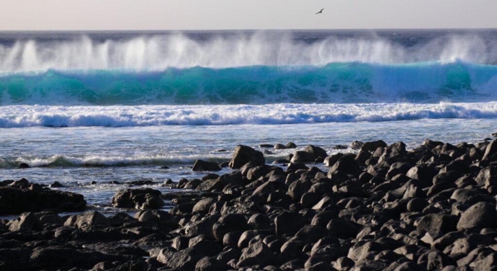 Le onde impetuose di Lanzarote
