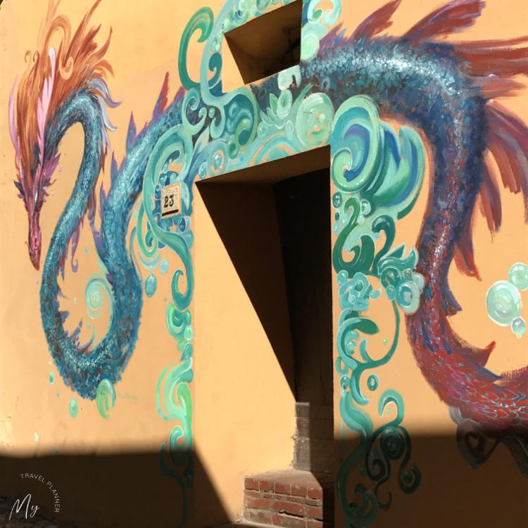 Murales di Dozza: Paolo Barbieri