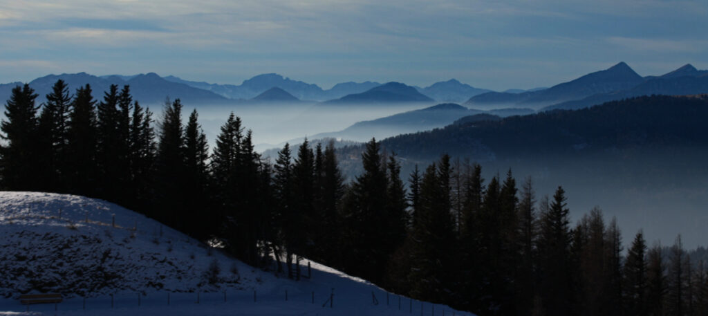 Panorama in Carinzia