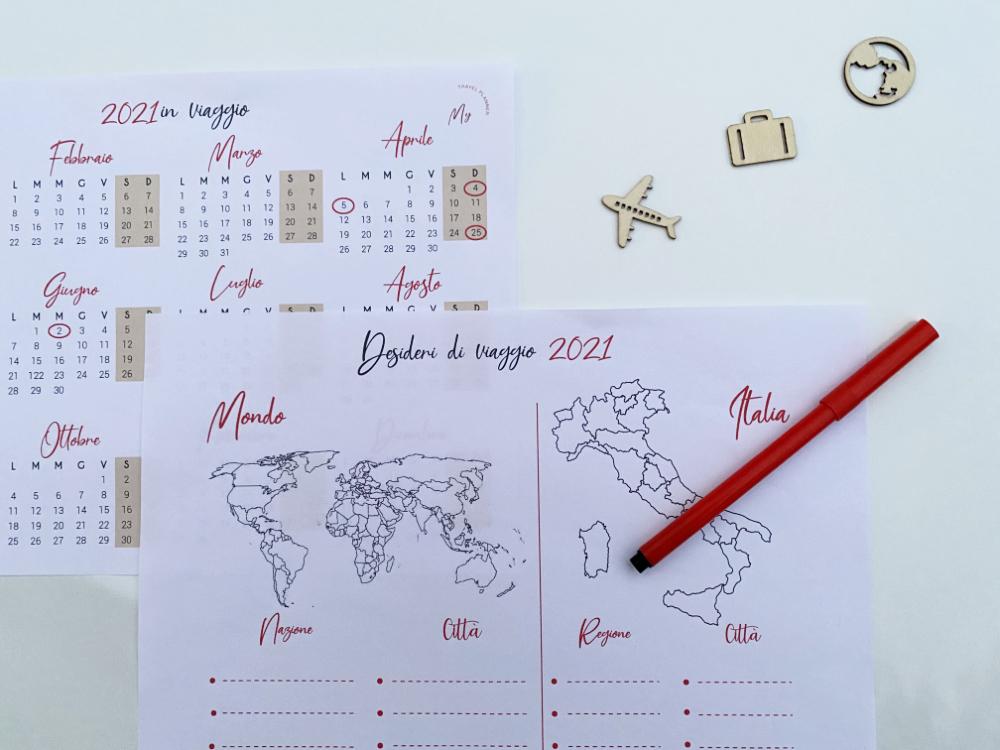 come e dove viaggiare nel 2021, calendario di viaggio