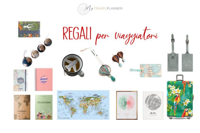 Regali per viaggiatori e viaggiatrici