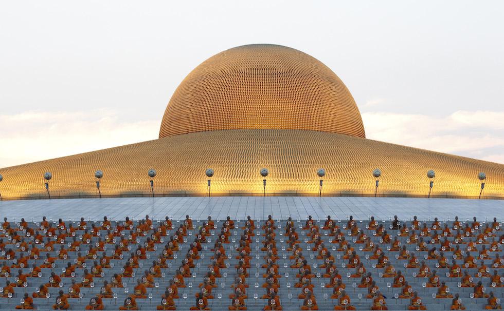 Makha Bucha al Wat Phra Dhammakaya