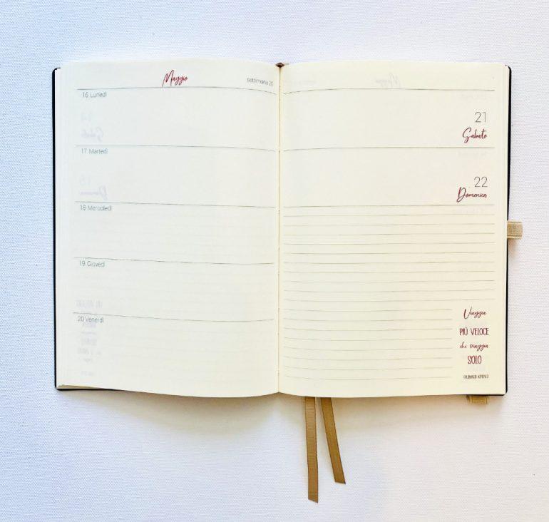 planner agenda settimanale 12 mesi 2022