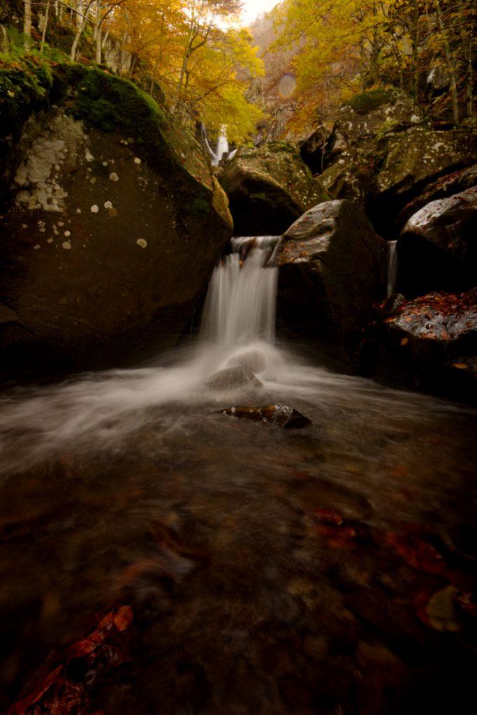 La magia delle cascate del Dardagna